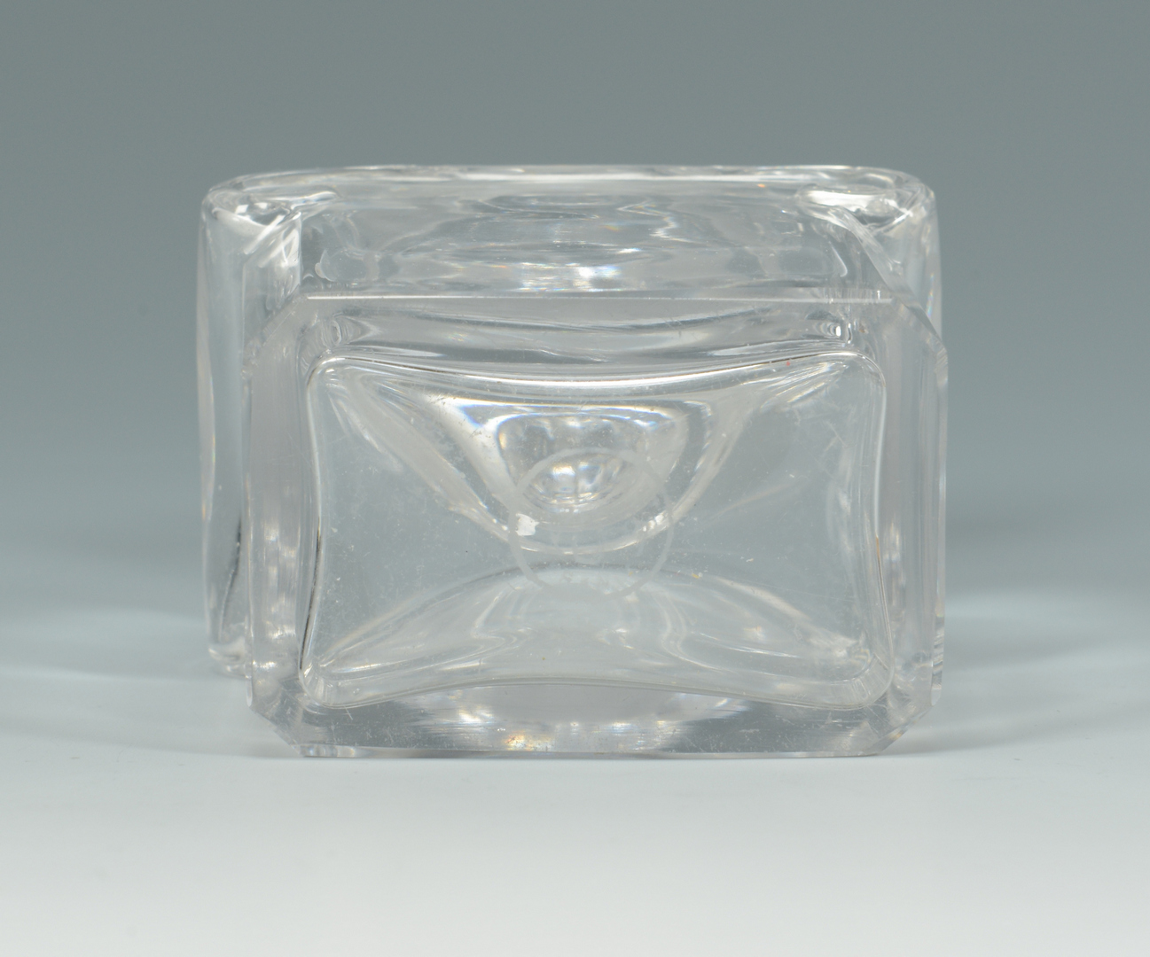 Lot 3088122: 3 Decorative items inc. Coromandel Box, Baccarat b
