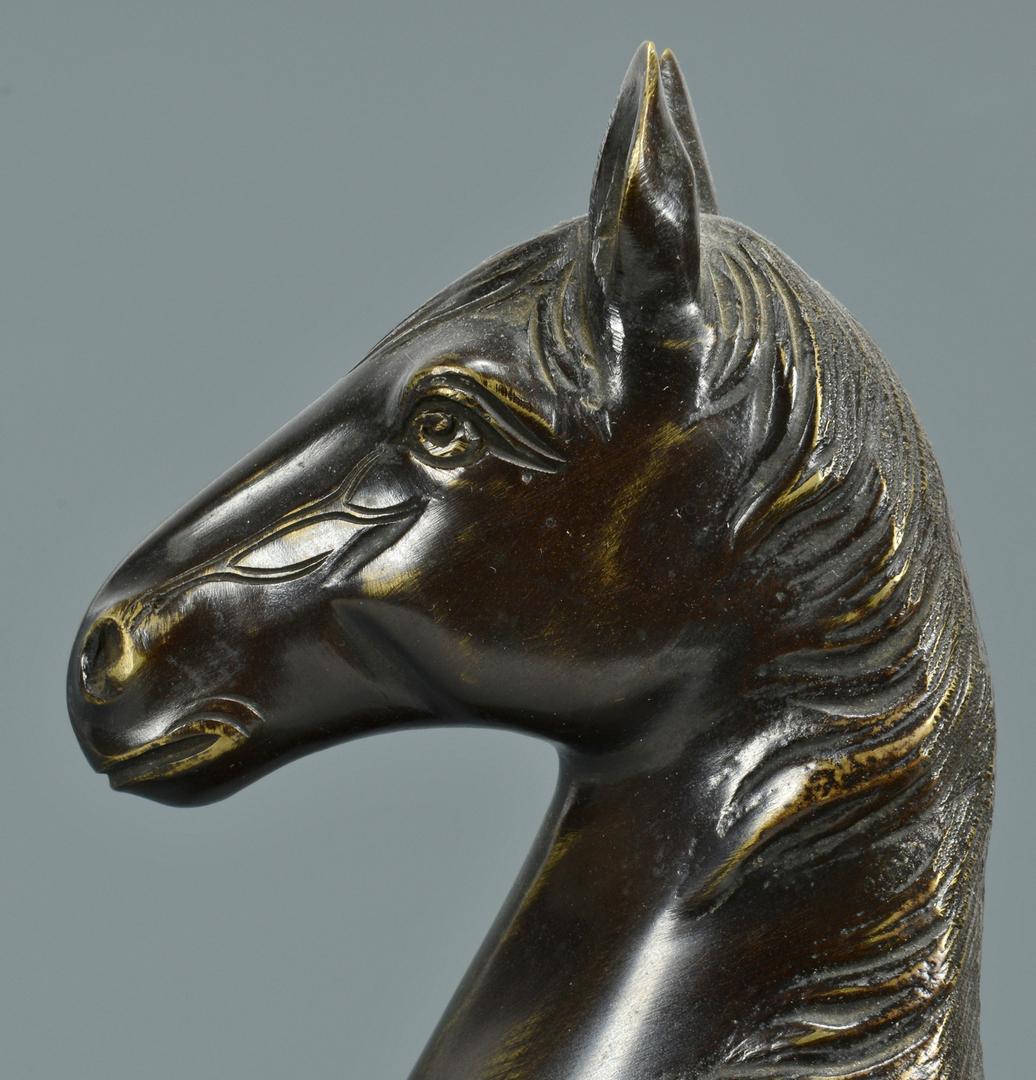 Lot 3088132: Asian Bronze Horse Sculpture