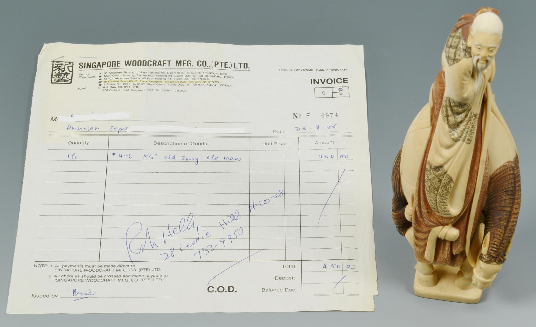 Lot 3088134: Asian Ivory Figure on Horseback
