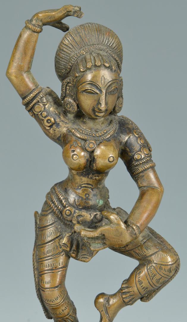 Lot 3088138: 5 Small Decorative Bronze Asian Items