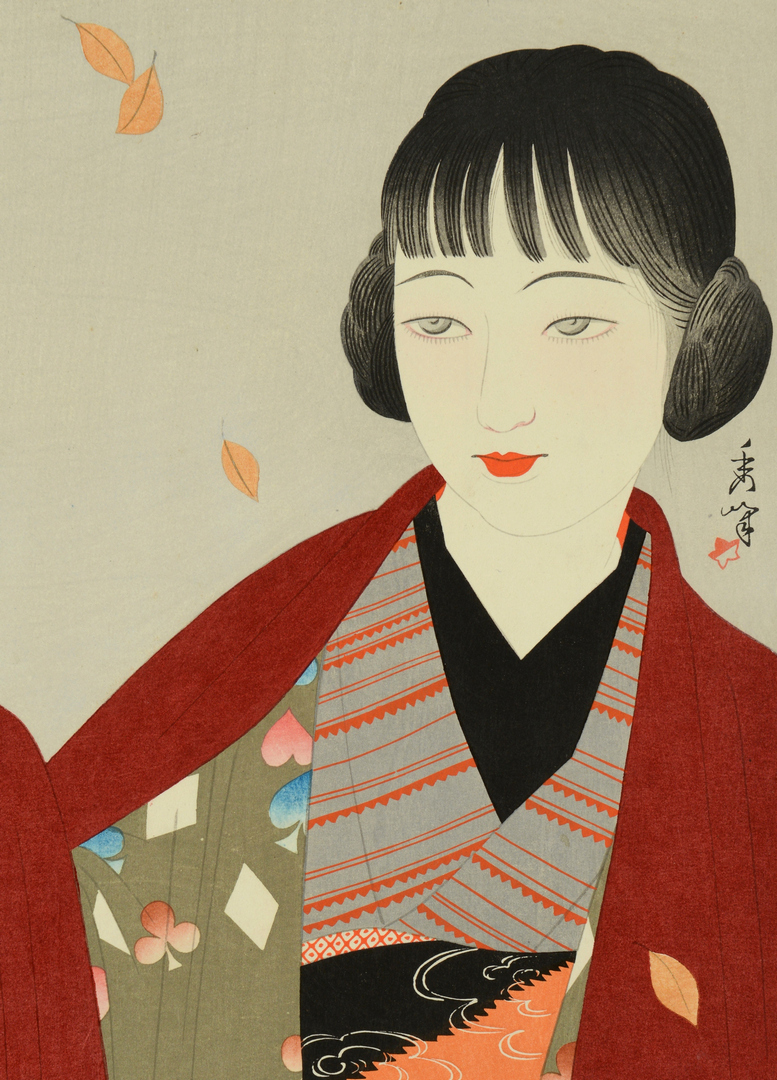 Lot 3088150: Japanese Woodblock by Yamakawa Shuho
