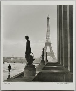 Lot 3088153: Ed Clark Photograph, Eiffel Tower