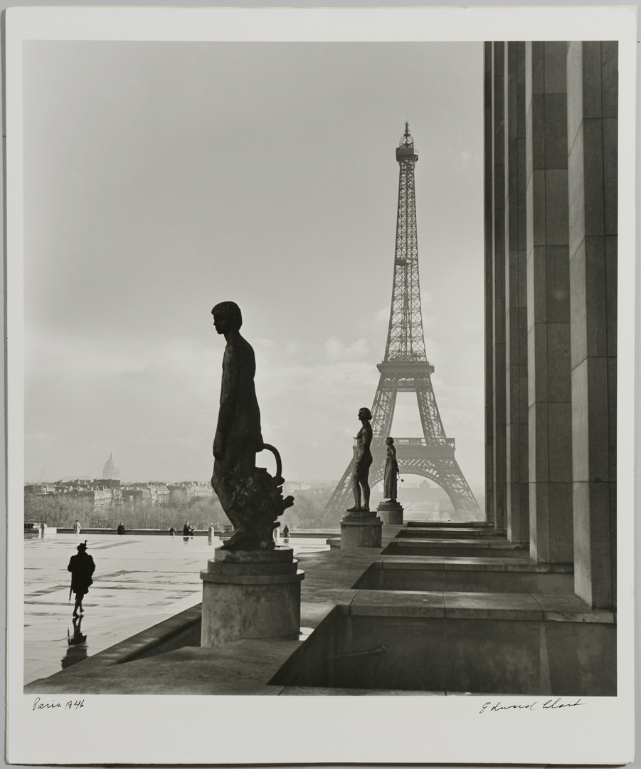 Lot 3088153: Ed Clark Photograph, Eiffel Tower