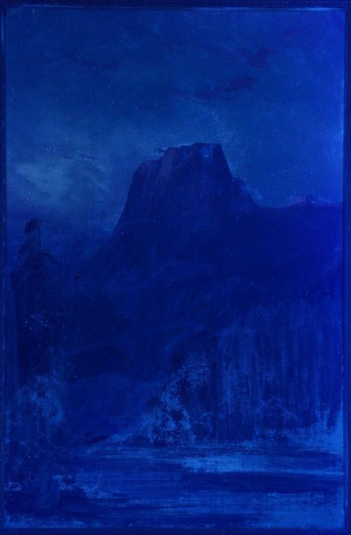 Lot 3088158: Frederick Schafer Oil on Board, El Capitan