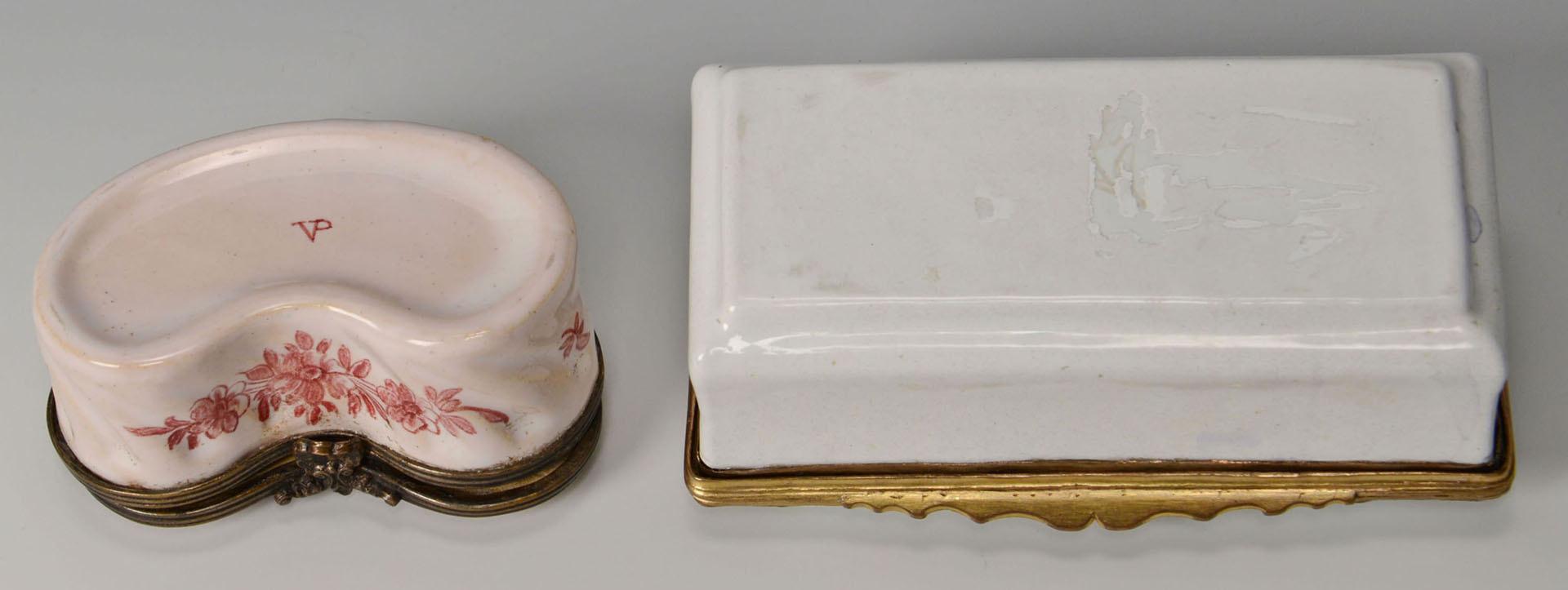 Lot 3088165: 2 19th century enamel boxes inc. Veuve Perrin