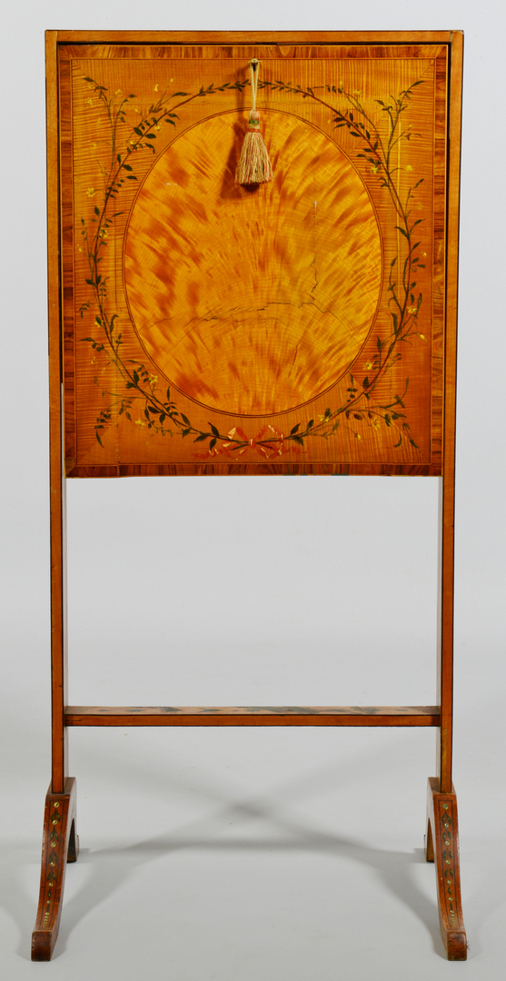 Lot 3088178: Painted Escritoire or folding ladies desk