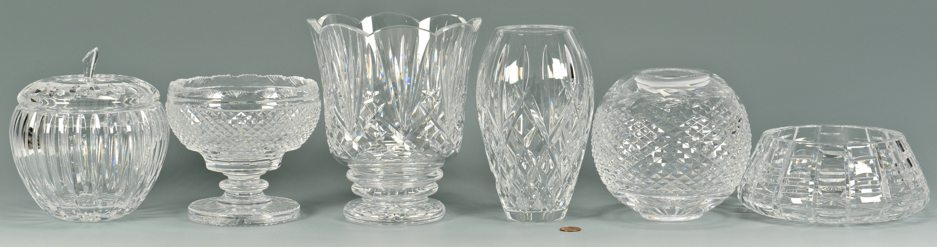 Lot 3088189: Grouping of Waterford Crystal Decorative Items
