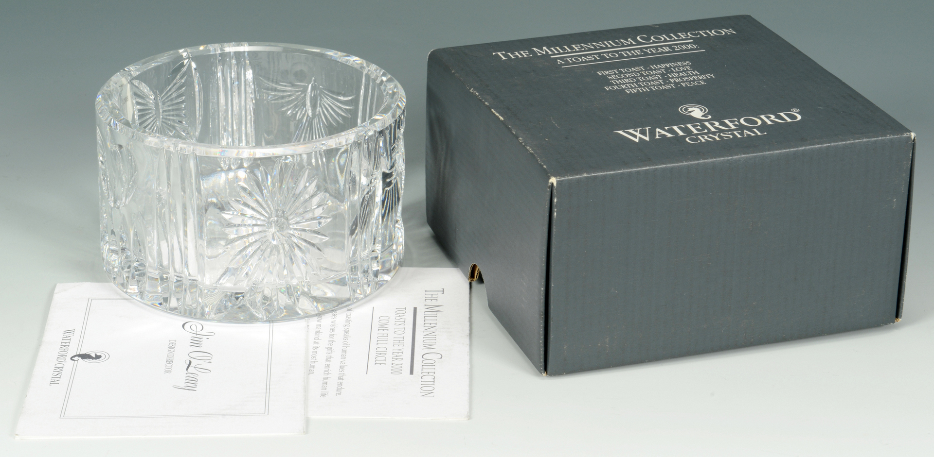 Lot 3088190: Grouping of Waterford Cut Crystal Items