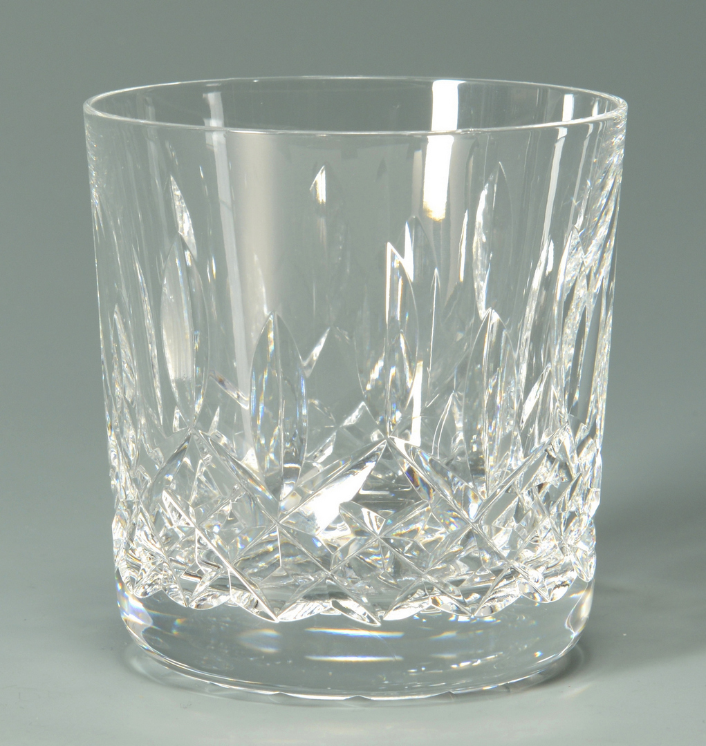 "Lot 3088191: 15 Waterford Lismore ""Old Fashioned"" Glasses"