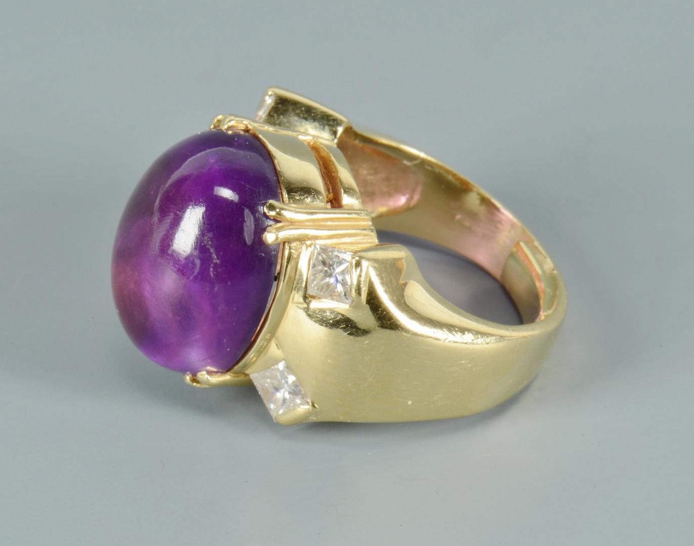 Lot 3088223: Three Semi-precious Rings