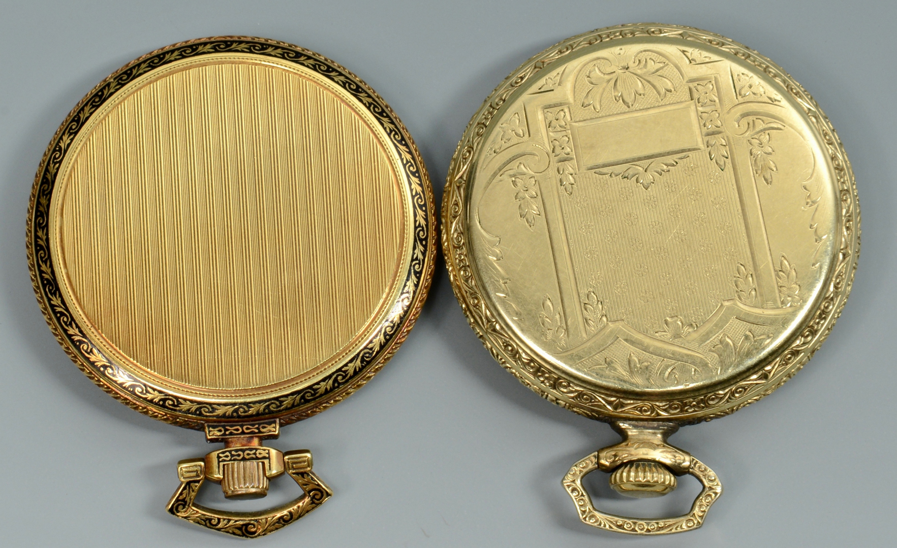Lot 3088227: 5 Pocket Watches incl 18k Wegelin Fils