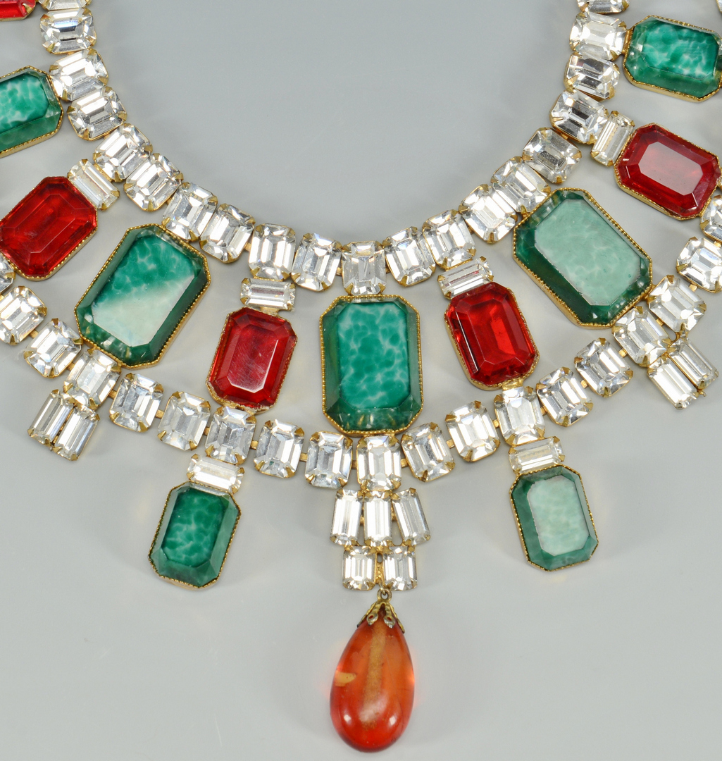 Lot 3088234: Signed Scaasi Multicolor Necklace