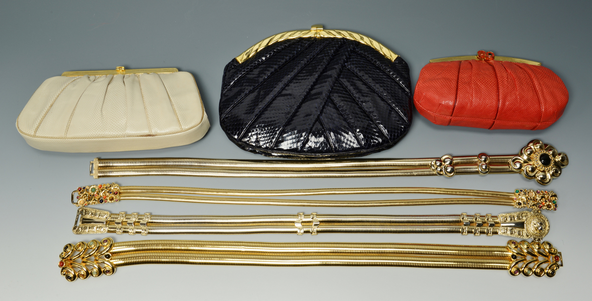 Lot 3088236: Judith Leiber Belts and Bags