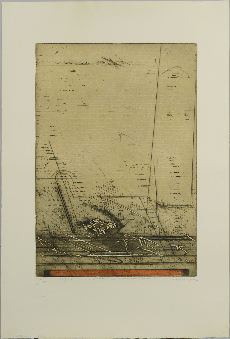 Lot 3088241: Karl Fred Dahmen color etching