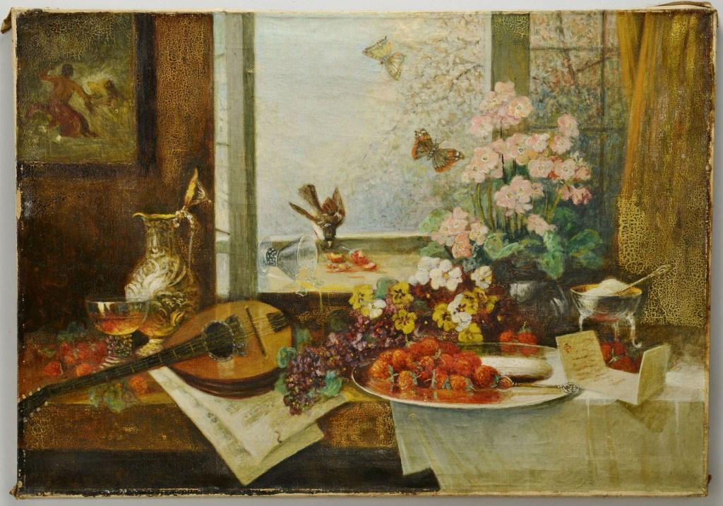 Lot 3088252: Paul Gehrmann, Still Life, Oil on Canvas