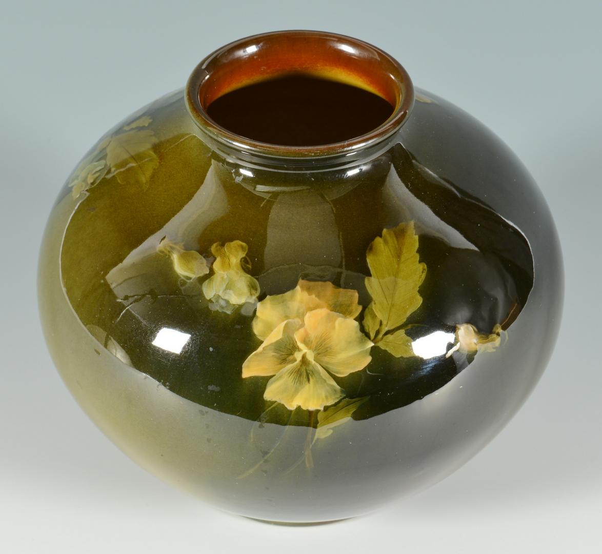 Lot 3088263: Early Rookwood Vase, signed O. G. Reed