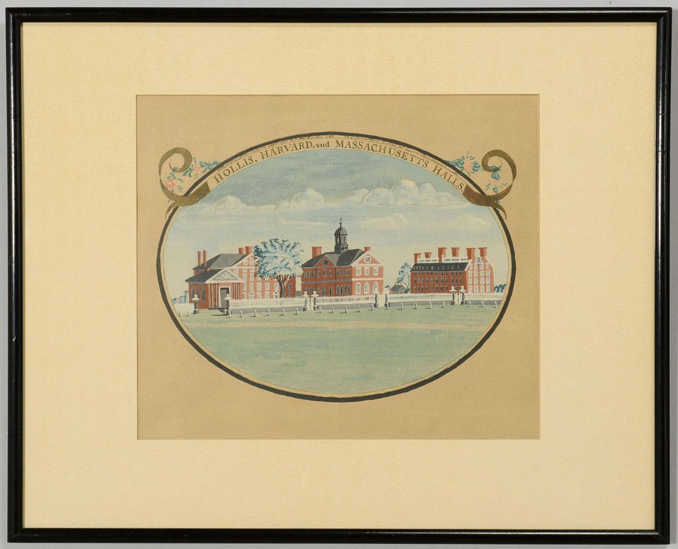 Lot 3088264: 2 Jonathan Fisher Massachusetts Framed Silkscreens