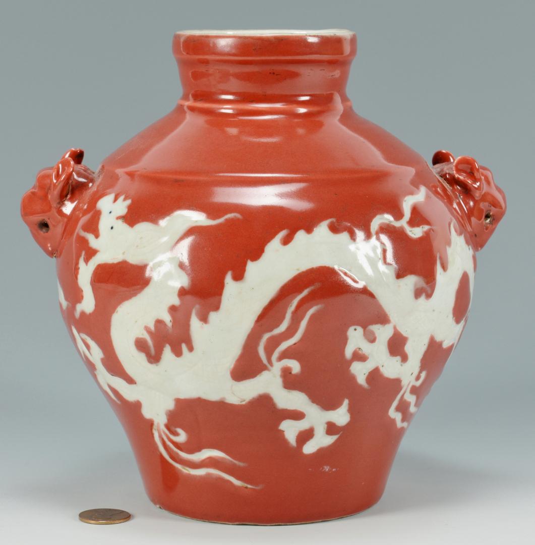 Lot 3088277: Chinese Dragon Vase