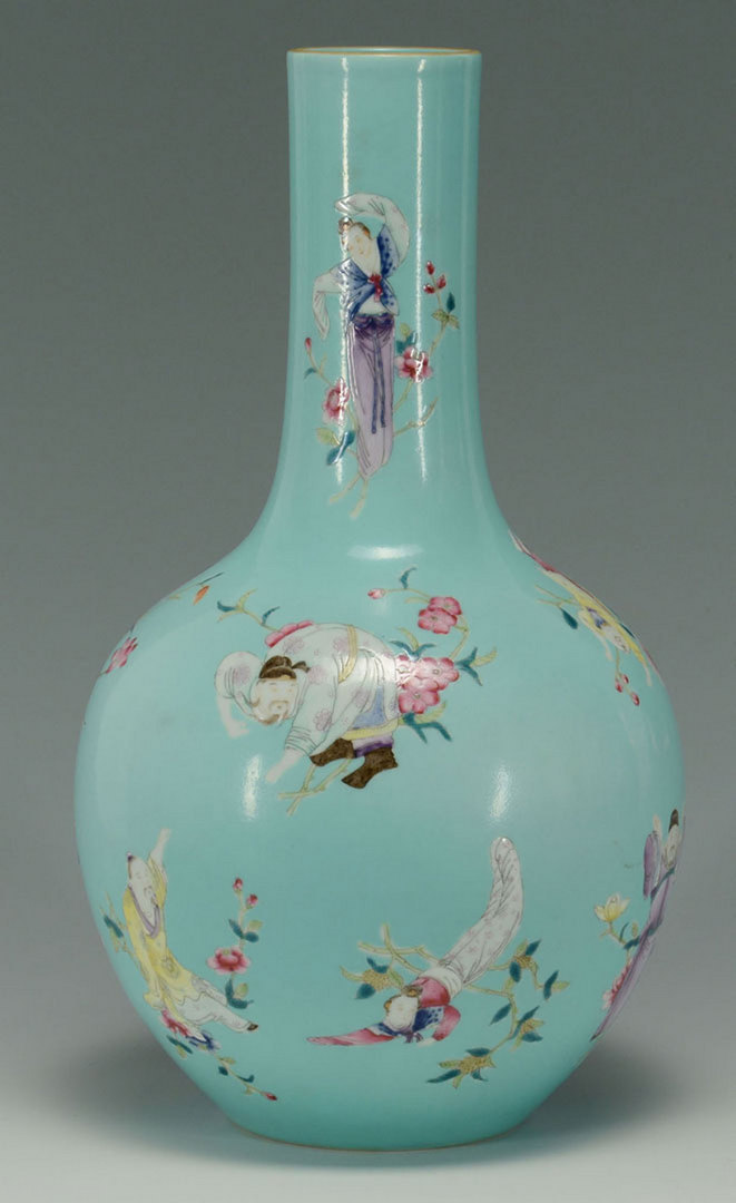 Lot 3088279: Chinese Famille Rose Bottle Vase