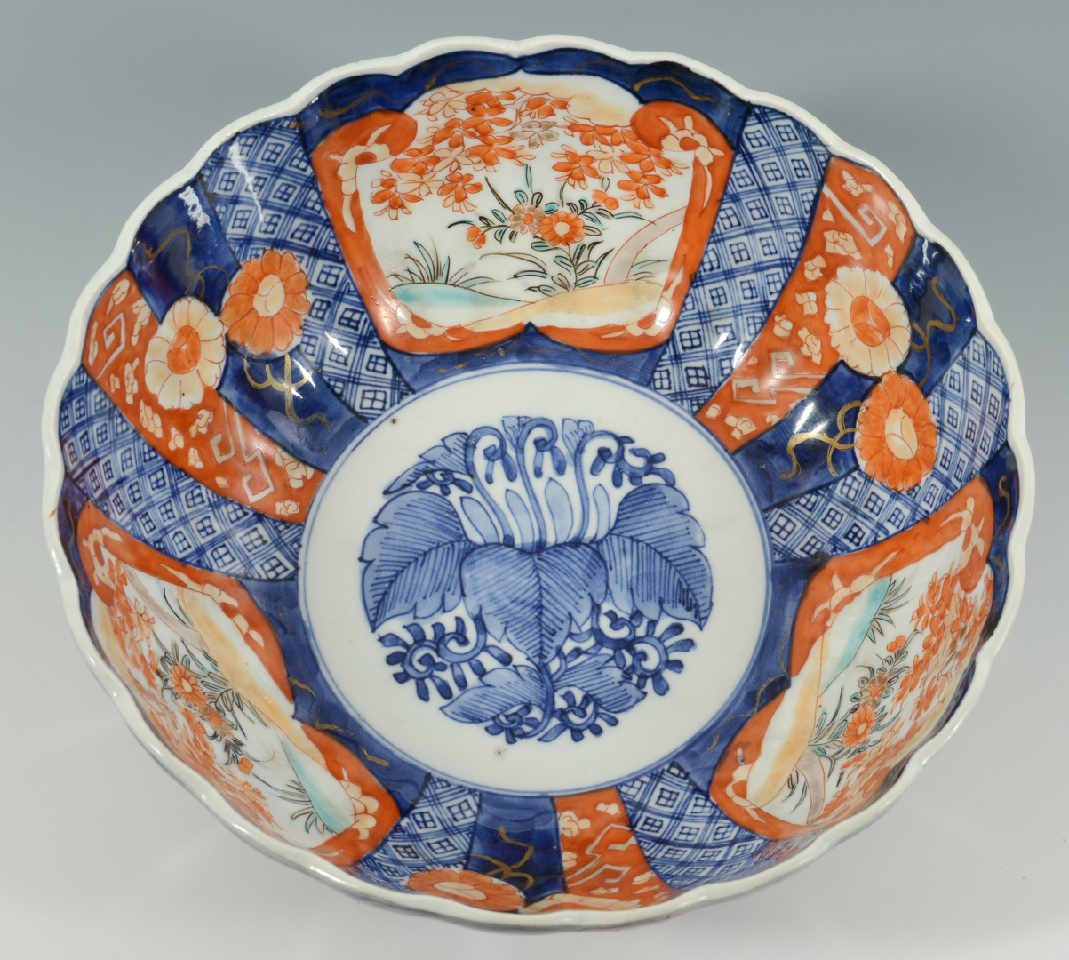 Lot 3088293: Japanese Charger and Bowl