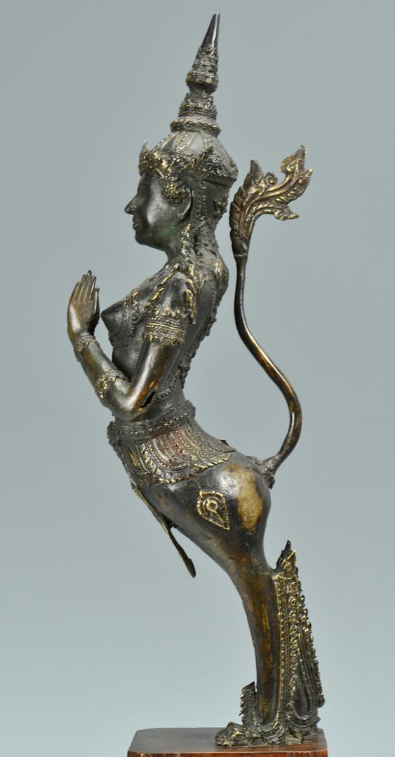 Lot 3088302: Southeast Asian Bronze Sculpture