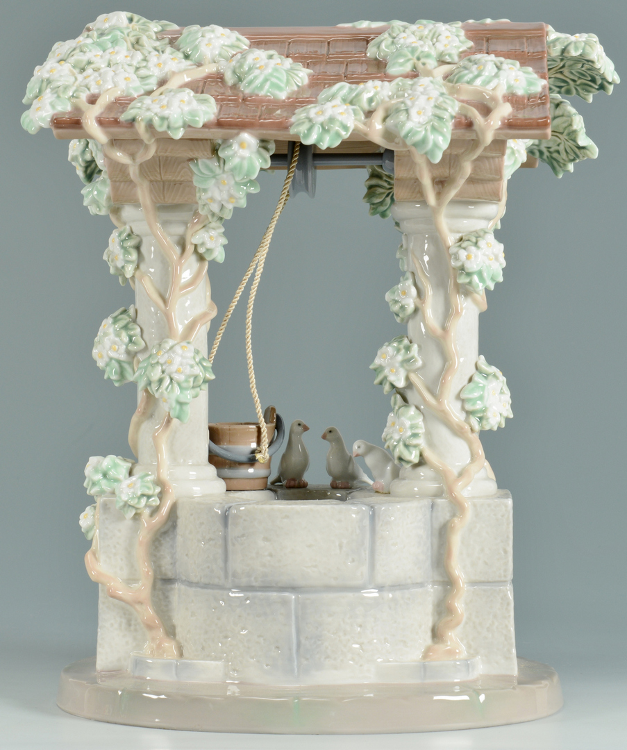 Lot 3088306: Giuseppe Armani Snow White's Wishing Well