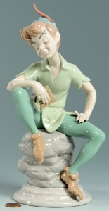Lot 3088307: Lladro Peter Pan Figure