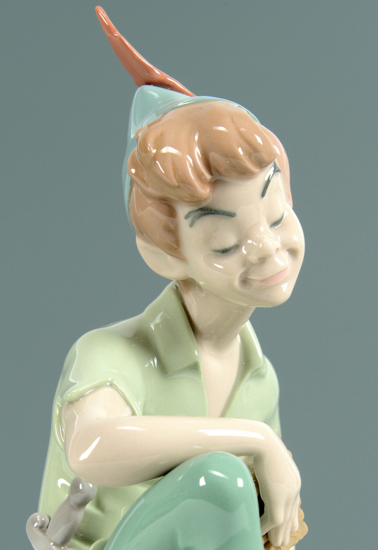 Lot 3088307: Lladro Peter Pan Figure