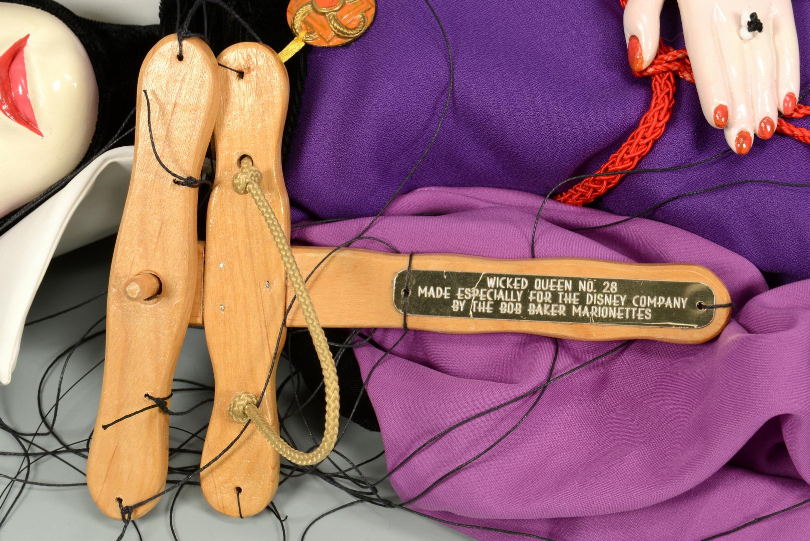 Lot 3088308: 2 Bob Baker Disney Marionettes