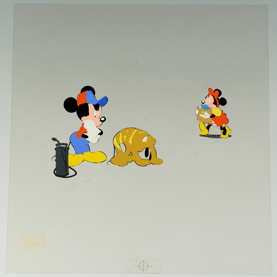 Lot 3088310: 4 Disney Animation Cels