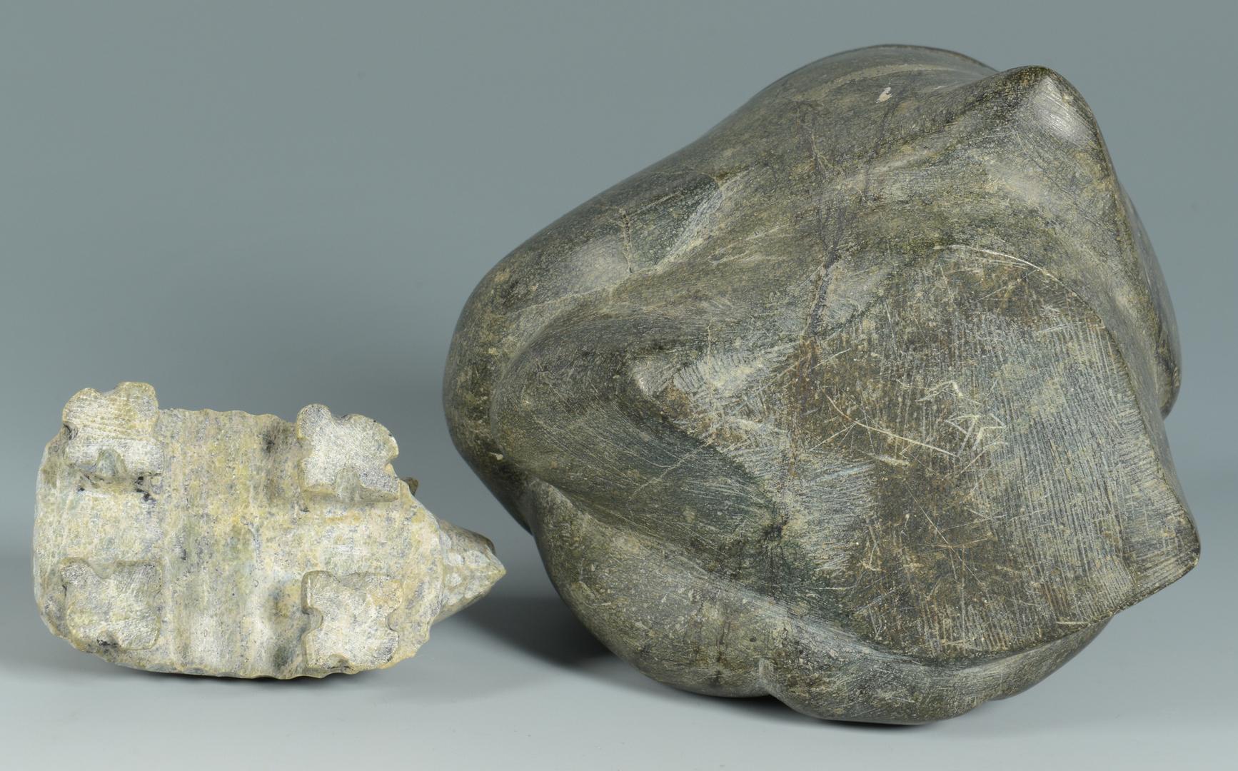Lot 3088328: 3 pieces Inuit Art