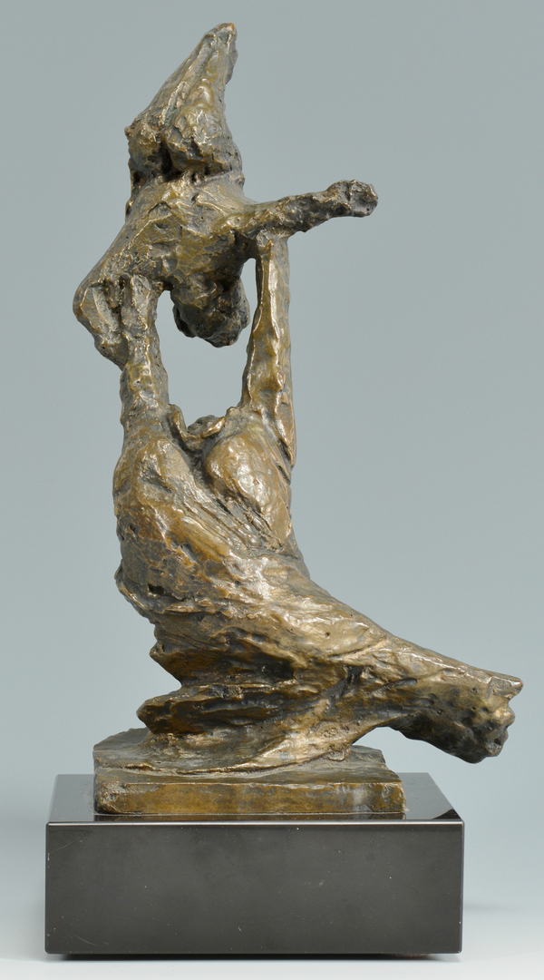 Lot 3088343: Bronze Sculpture, Mother and Child