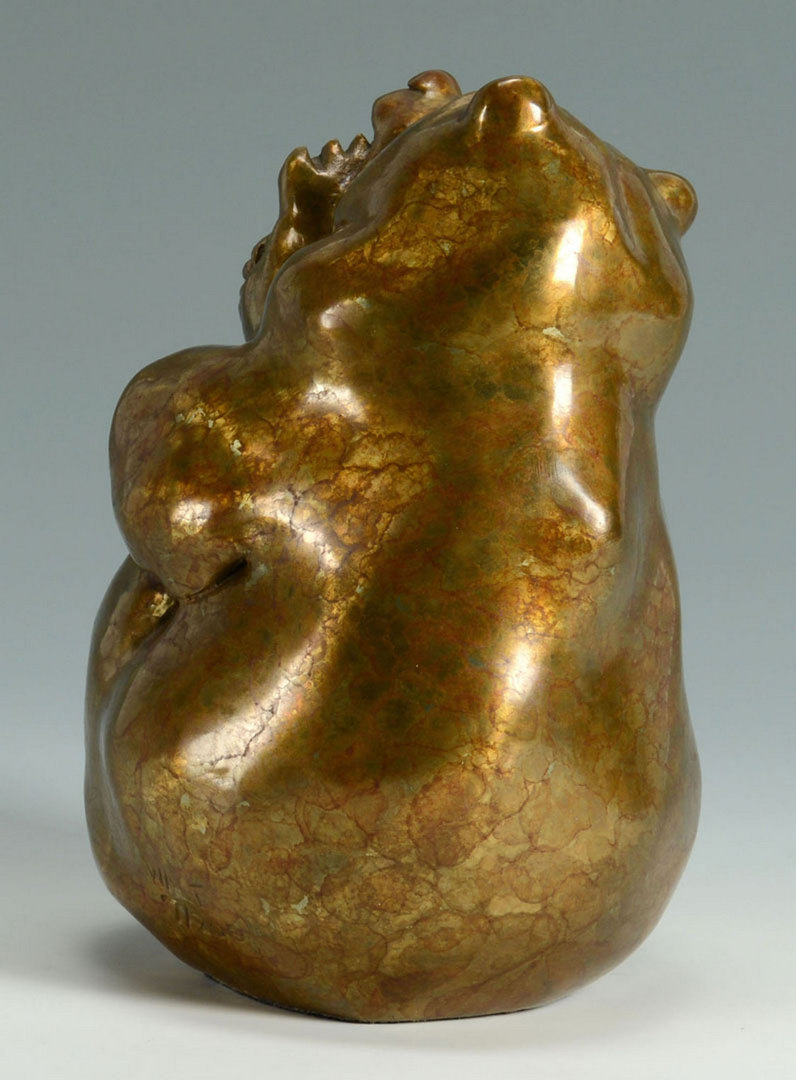 Lot 3088344: Walt Horton Bronze Bear Sculpture