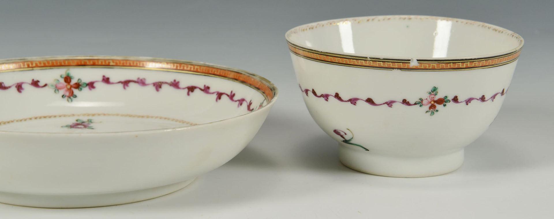 Lot 3088348: 16 pcs. Chinese & English Porcelain