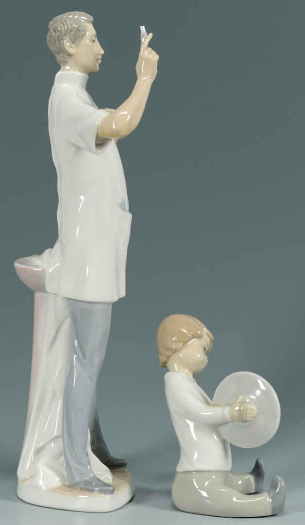 Lot 3088359: 2 Lladro Porcelain Figures