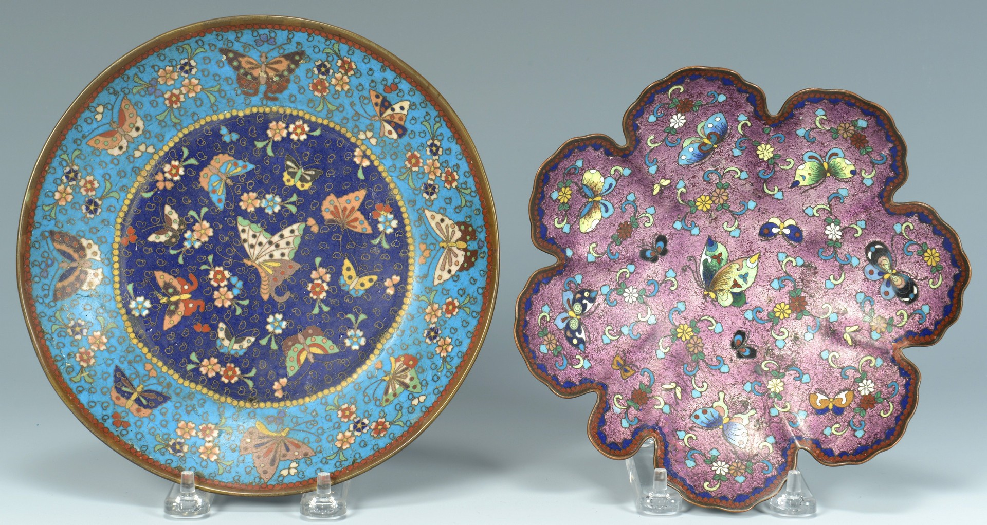 Lot 3383142: 11 pcs Assorted Cloisonne