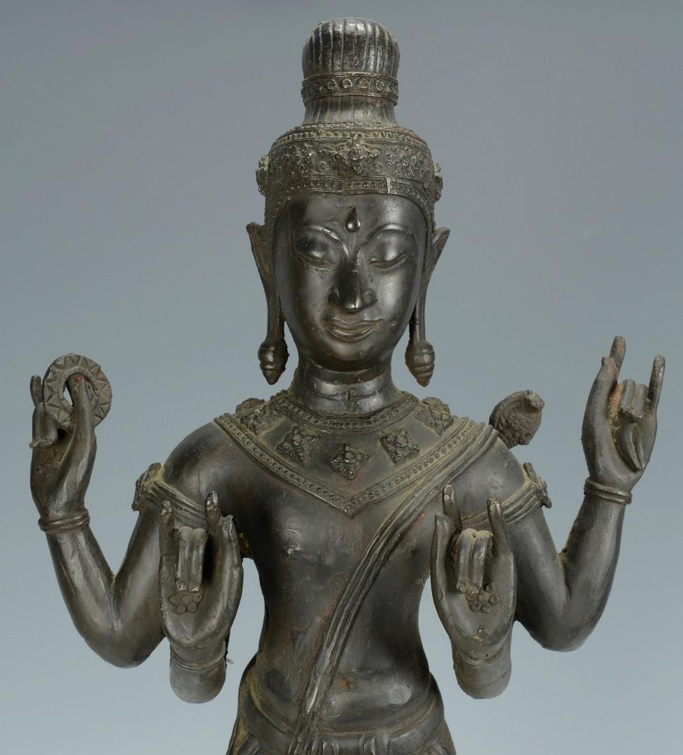 Lot 3383156: Large Asian Bronze Figure
