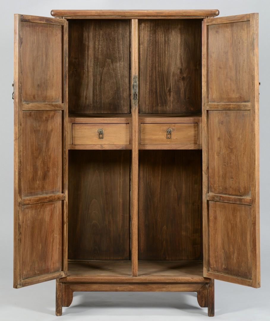 Lot 3383157: Chinese Hardwood Wardrobe