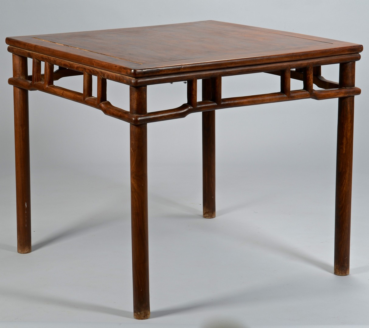 Lot 3383159: Chinese Hardwood Square Table