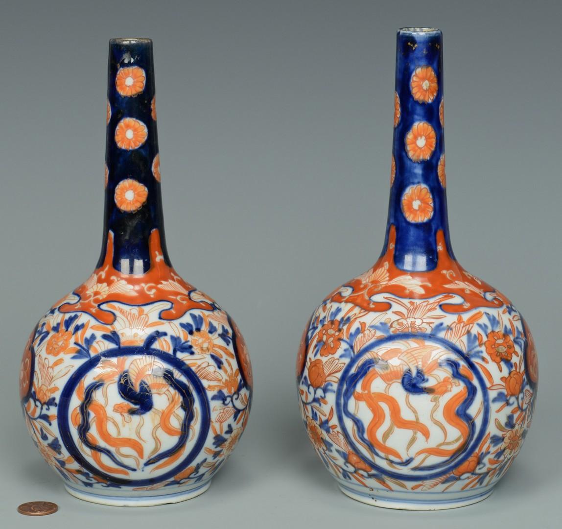 Lot 3383178: Pair Imari Bottles