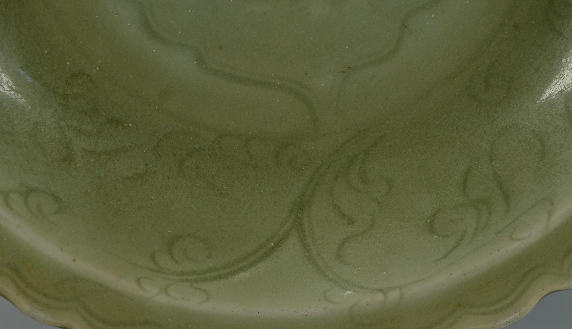 Lot 3383221: Chinese Ming Celadon Plate