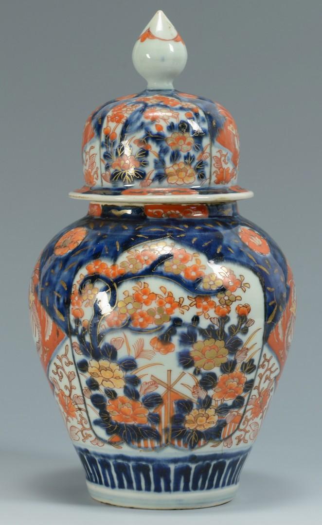 Lot 3383223: Imari Covered jar