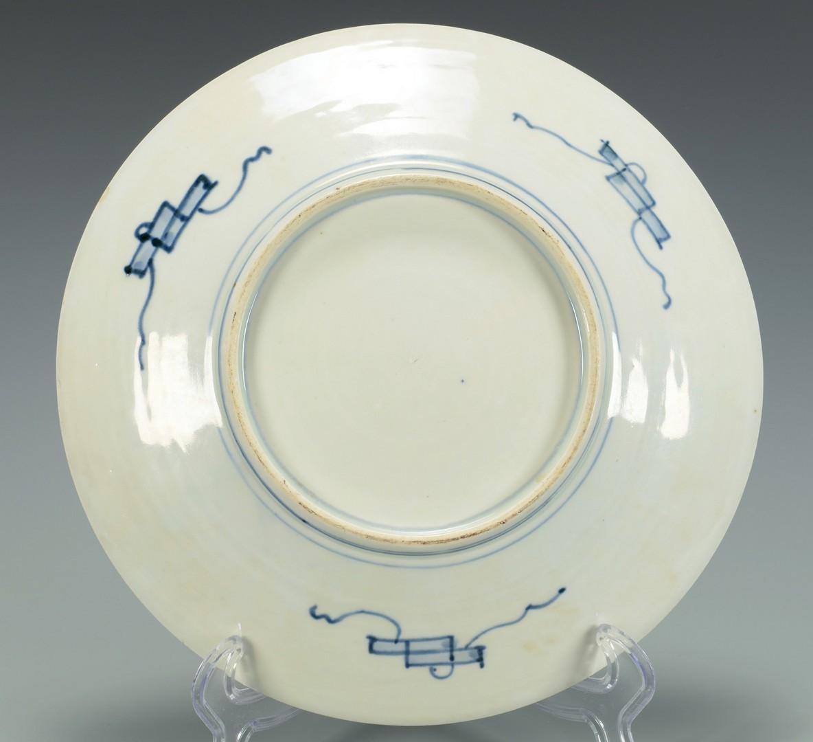 Lot 3383224: 3 Imari Porcelain Chargers