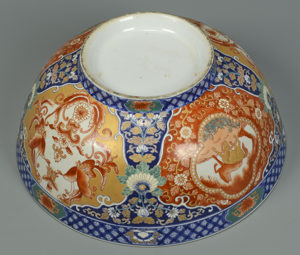 Lot 3383227: Large Chinese Porcelain Punchbowl