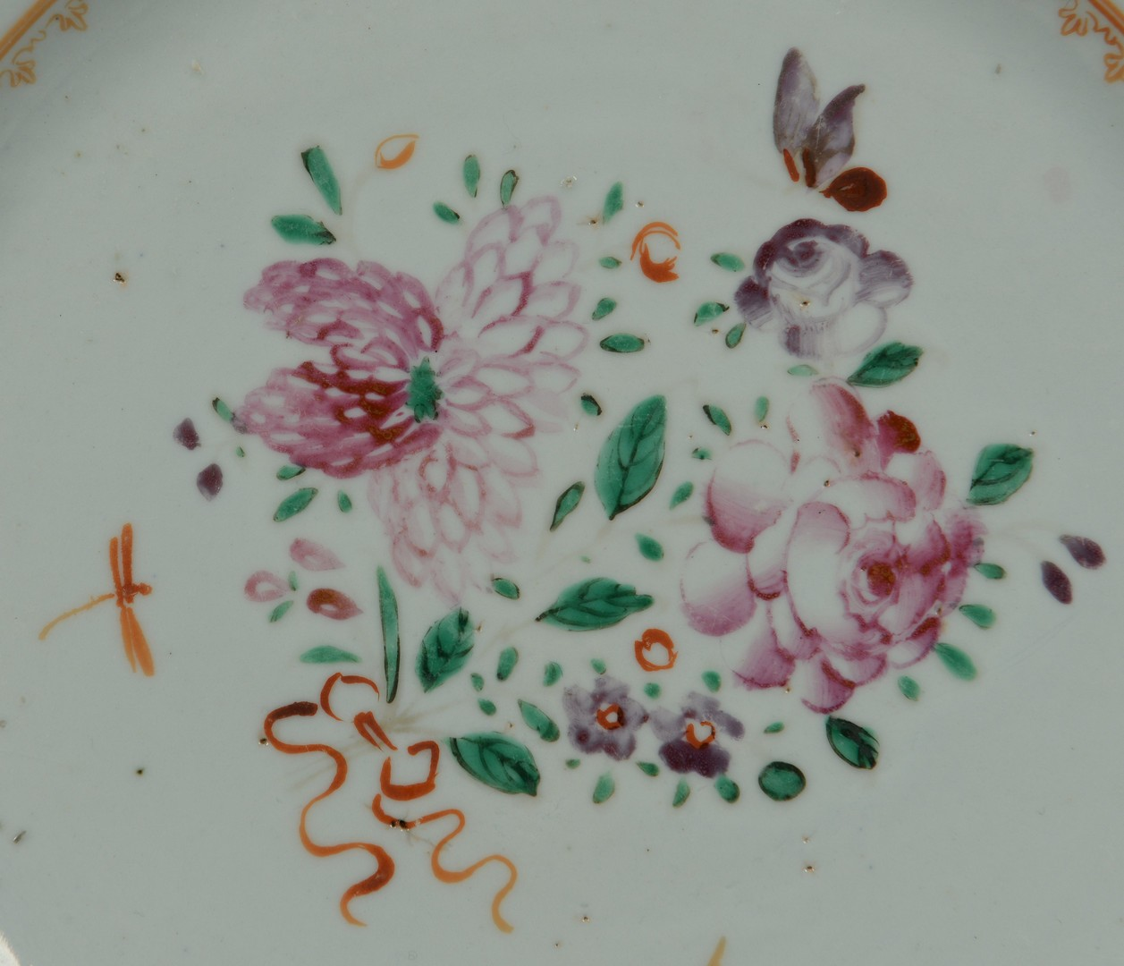 Lot 3383229: 2 Chinese Export Porcelain Items