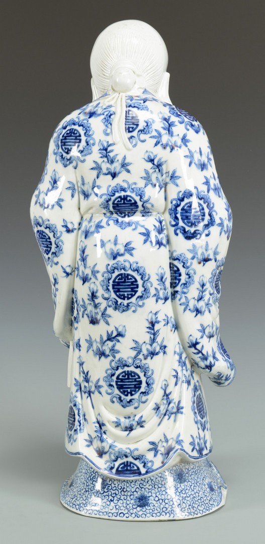 Lot 3383230: Chinese Porcelain Immortal Figure