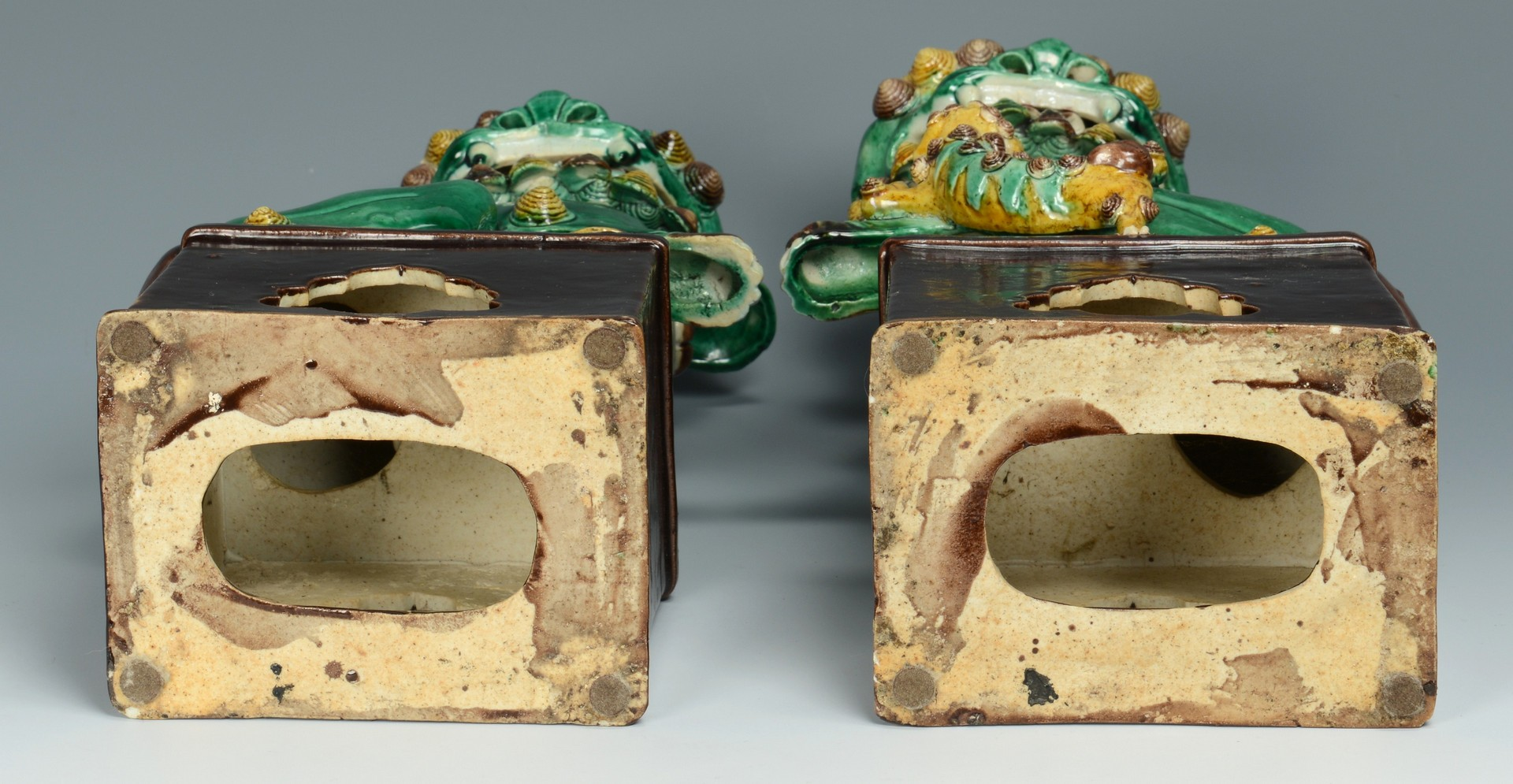 Lot 3383234: Pair Chinese Foo Dogs