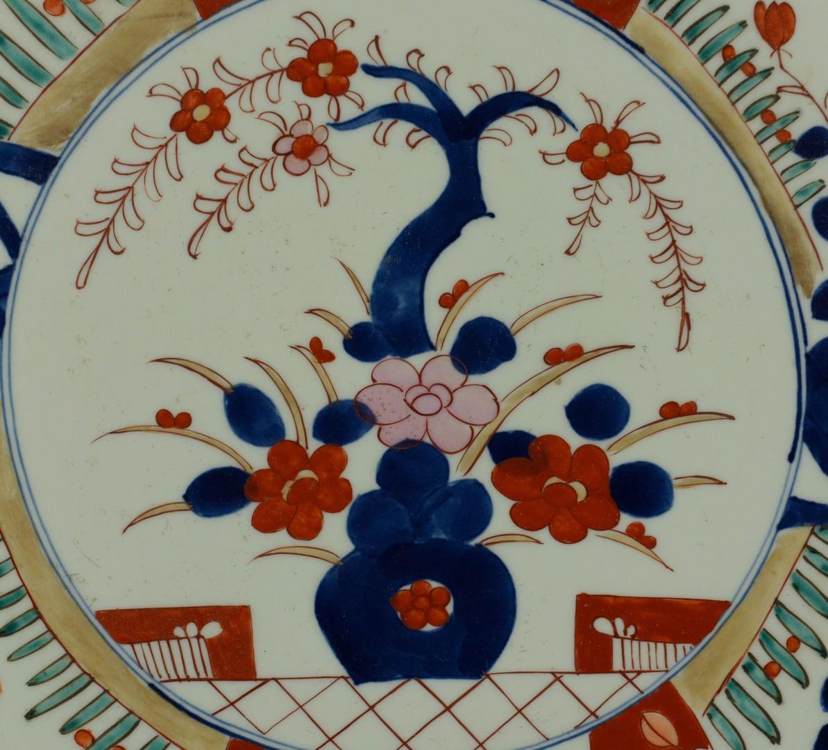 Lot 3383235: Japanese Imari Porcelain Charger