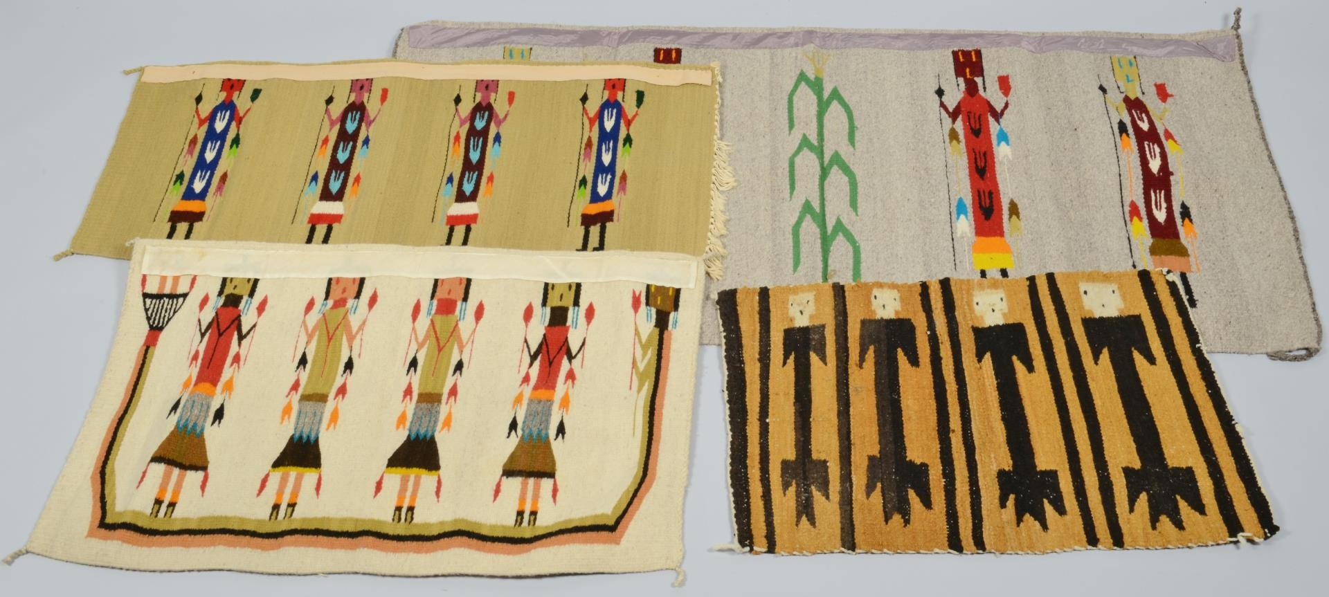Lot 3383268: Native American Art and Rugs