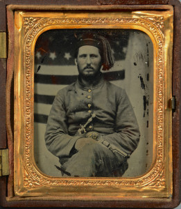 Lot 102: Civil War Ambrotype, 13th TN Union